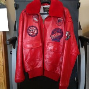 Schott NYC G1 Bomber flight Leather Jacket Size XL
